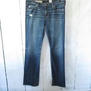 AG Jeans Calypso St Barth The Ballad Slim Boot